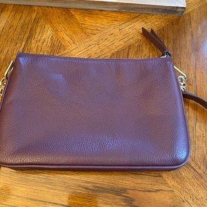 kate spade Bags - EUC Kate Spade cross body bag. Plum colored.
